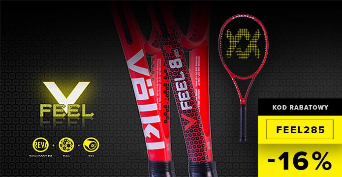 kod rabatowy na rakietę tenisową volkl v-feel 8 285